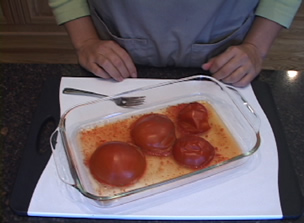 Peeling Tomatoes With A Microwave Video