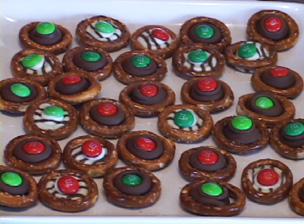How to Make Chocolate Drop Pretzels Video