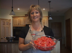 how to cut watermelon Video