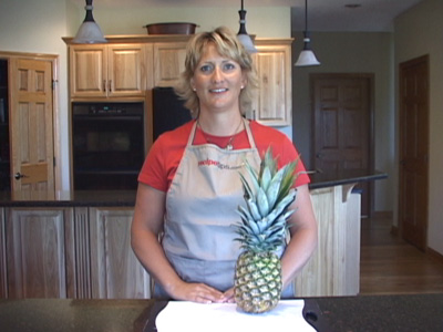Cleaning a Pineapple Video