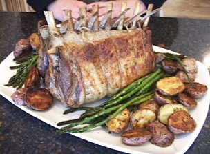 How to Roast a Rack of Lamb Video
