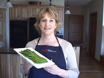 Boiling Asparagus for Your Favorite Asparagus Recipes Video