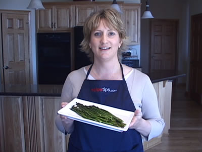 Roasting Asparagus for Your Favorite Asparagus Recipes Video