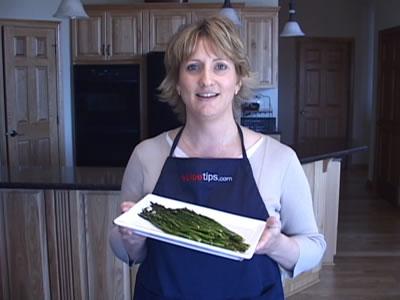 Roasting Asparagus for Your Favorite Asparagus Recipes Video