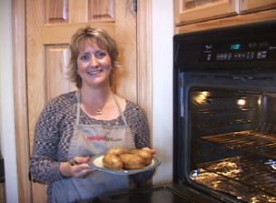 How to Bake Potatoes Video