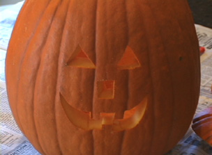 how to carve a pumpkin Video