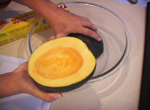 How to Microwave Squash Video