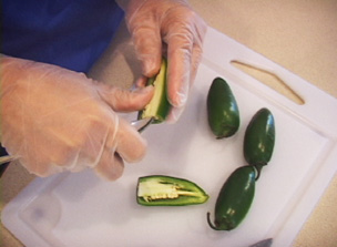 How to Seed a Hot Pepper Video