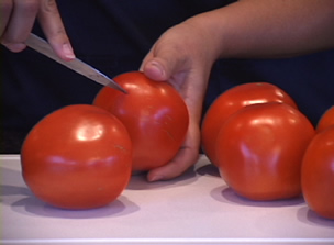 How To Peel A Tomato Video