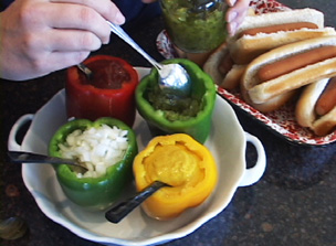 Peppers for Picnic Condiments Video